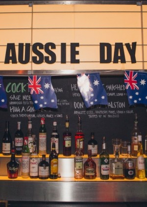Australia Day in the Wigwam