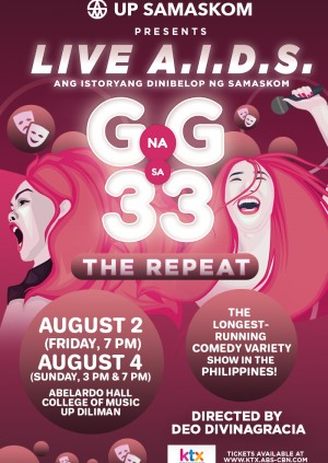 Live A.I.D.S. G na G sa 33: THE REPEAT