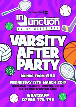 Injunction Varsity Afterparty