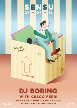 Sensu presents DJ Boring