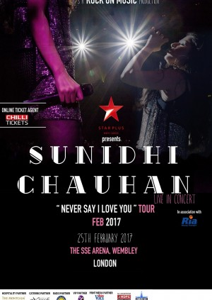 Sunidhi Chauhan - London