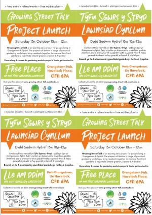 Growing Street Talk Project Launch (Grangetown)