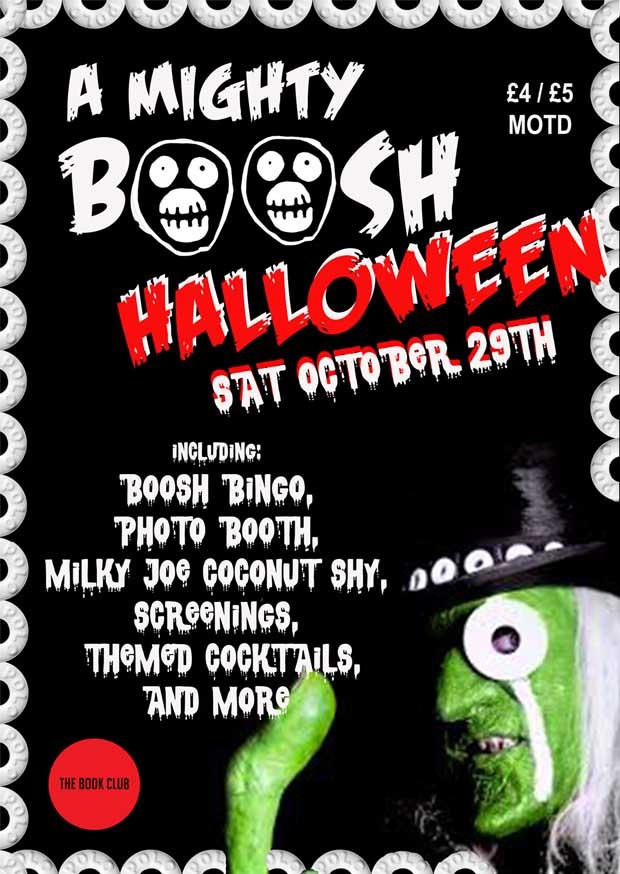 The Book Club presents A Boosh Halloween