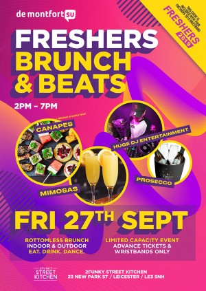 Freshers Brunch & Beats
