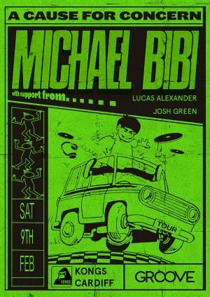 Groove Presents: Michael Bibi (UK Tour) // Cardiff - 09.02.19