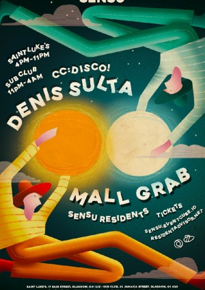 Sensu presents Mall Grab & Denis Sulta