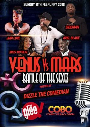 Venus Vs Mars : Battle Of The Sexes