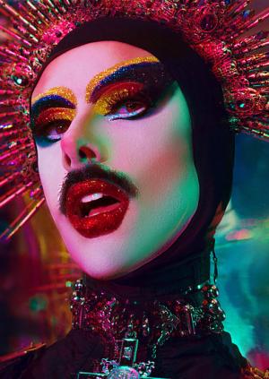 Cocktails with cabaret stars...Virgin Xtravaganza