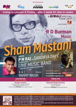 Sham Mastani: Diwali Special - Leicester