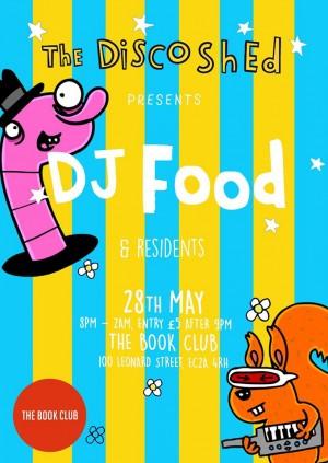 Disco Shed w/ DJ Food