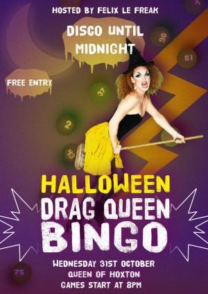 Drag Bingo! SPOOKTACULAR