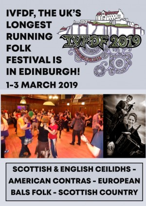 Inter-Varsity Folk Dance Festival (IVFDF) 2019 in Edinburgh