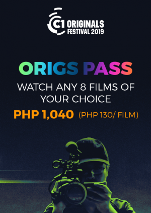 ORIGS PASS - Cinema One Originals Film Festival 2019