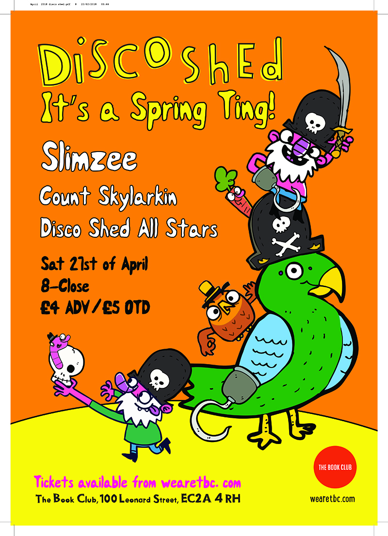 Disco Shed – It's a Spring Ting w/ Slimzee
