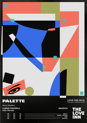 Palette Curated By Chris Farrel