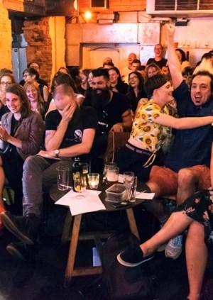 Pundemonium! LIVE at Hoxton Square Bar and Kitchen