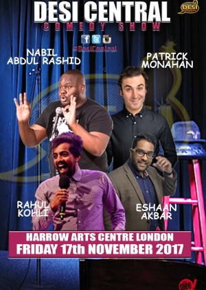 Desi Central Comedy Show - Harrow London