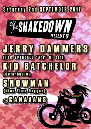 The Shakedown with Jerry Dammers, Kid Batchelor and Snowman