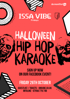 Issa Vibe Halloween Hip Hop Karaoke