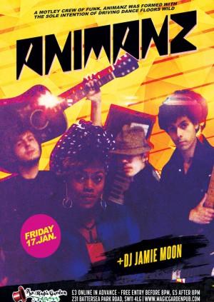 Animanz + DJ Jamie Moon