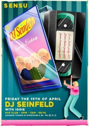 Sensu presents DJ Seinfeld // Iggie