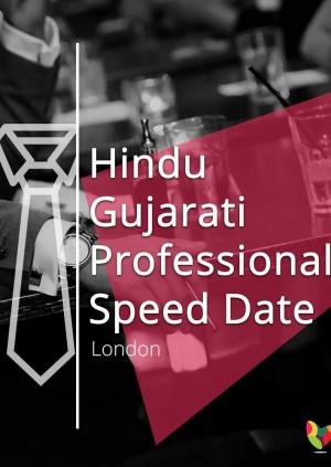 Hindu Gujarati Professional Speed Date