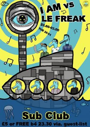 I AM x Le Freak