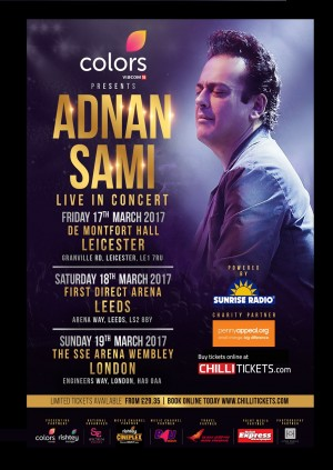 Adnan Sami Live in Concert - Leeds