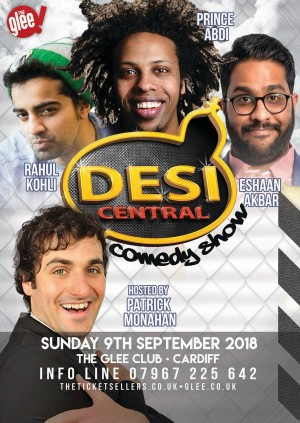 Desi Central Comedy Show - Cardiff