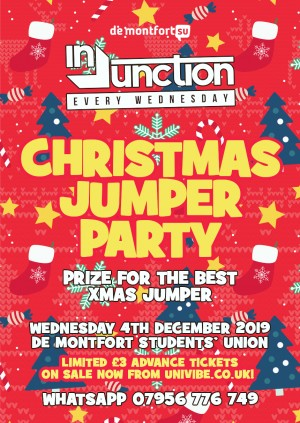Injunction Christmas Jumper Party
