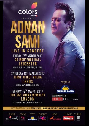 Adnan Sami Live in Concert - London