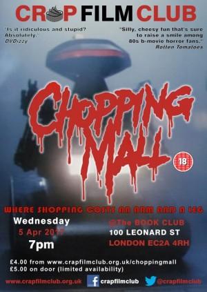CRAP FILM CLUB presents CHOPPING MALL!