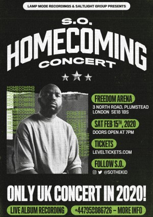 S.O. - Homecoming Concert