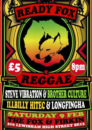 Ready Fox Reggae Present: Illibily Hitec and Longfingha