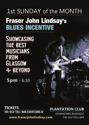 Fraser John Lindsay's Blues Incentive - Live at Plantation Club