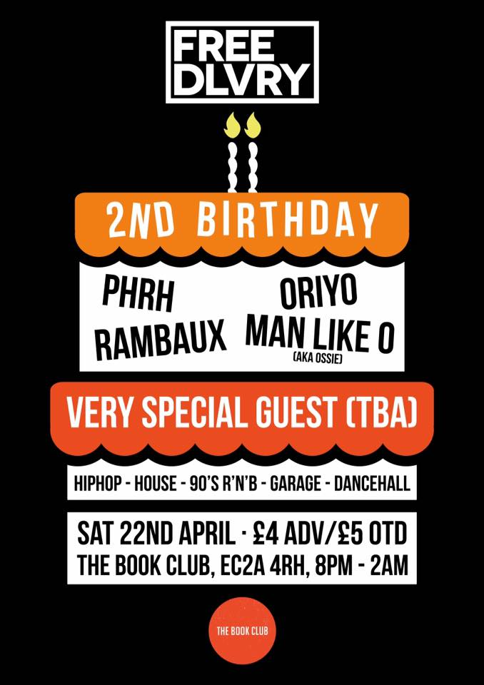 Free dlvry - 2nd Birthday Party!