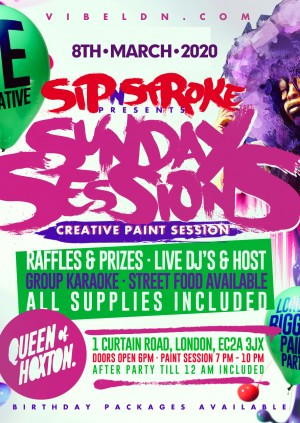 Sip 'N Stroke Paint Party | Sunday Sessions.