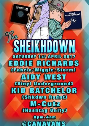The Shakedown with Eddie Richards, Aidy West, Kid Batchelor & M-Cutz