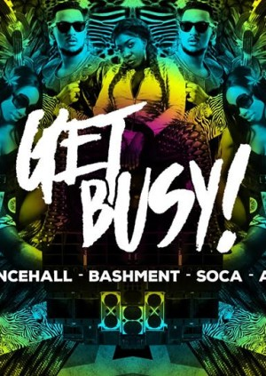 Get Busy Roof Party! Dancehall, Afrobeats & Soca