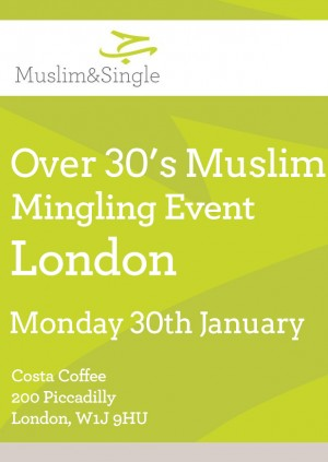 Over 30's Muslim Mingling Event