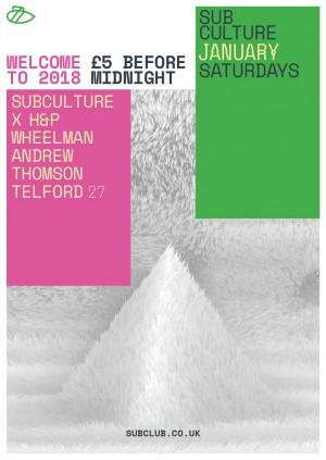 Subculture x H&P - Wheelman, Andrew Thomson + Telford