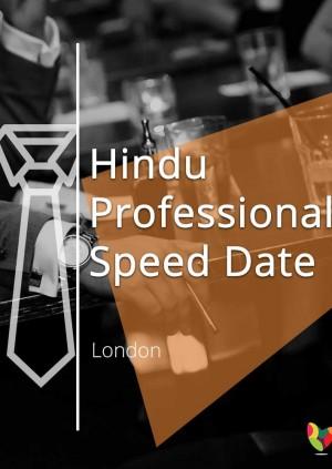 Hindu Professional Speed Date