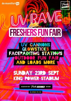UV Rave vs Freshers Fun Fair