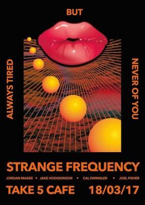Strange Frequency w/ Jordan Magee