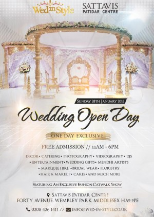Wed In Style Presents Wedding Open Day