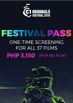 FESTIVAL PASS - Cinema One Originals Film Festival 2019