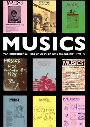 MUSICS & The Free Jazz Scene