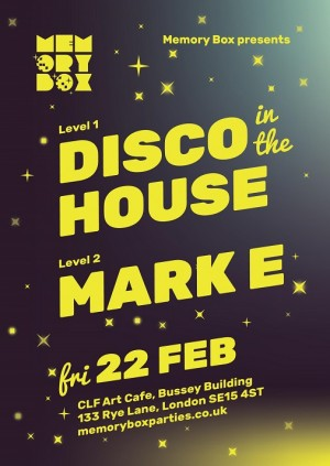 Disco in the House // Mark E