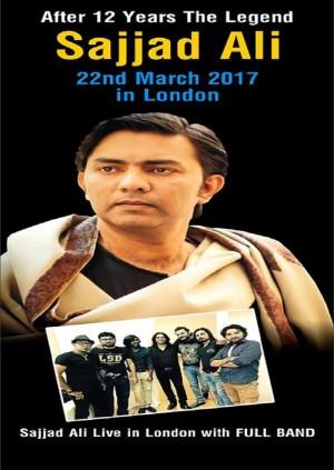 SAJJAD ALI - Live in London