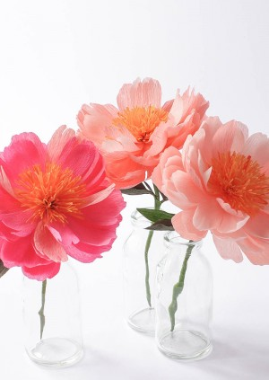 Paper Peony Workshop with A Petal Unfolds